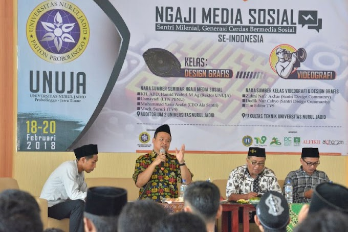 Ponpes Nurul Jadid Jadi Pilot Project Media Center Pesantren