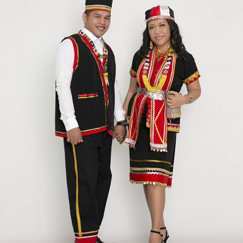 Bidayuh Traditional Costume