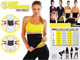 Hot Shapers Slim Waist Belt Korset Neotex Original Pembakar Lemak