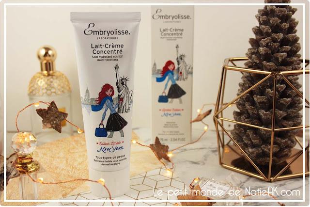 Lait-crème concentré d'Embryolisse en édition limitée New-York