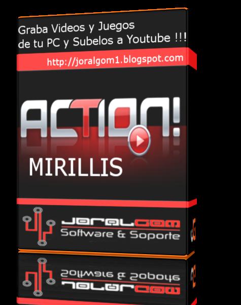 Mirillis Action! 1.30.0.0 Graba Vídeos y Juegos de Tu PC y Compartelos en YouTube y Facebook !!!!