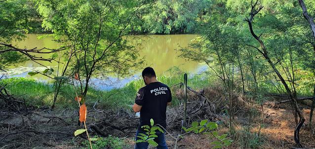 Homem é encontrado morto com marcas de violência no Rio Mossoró