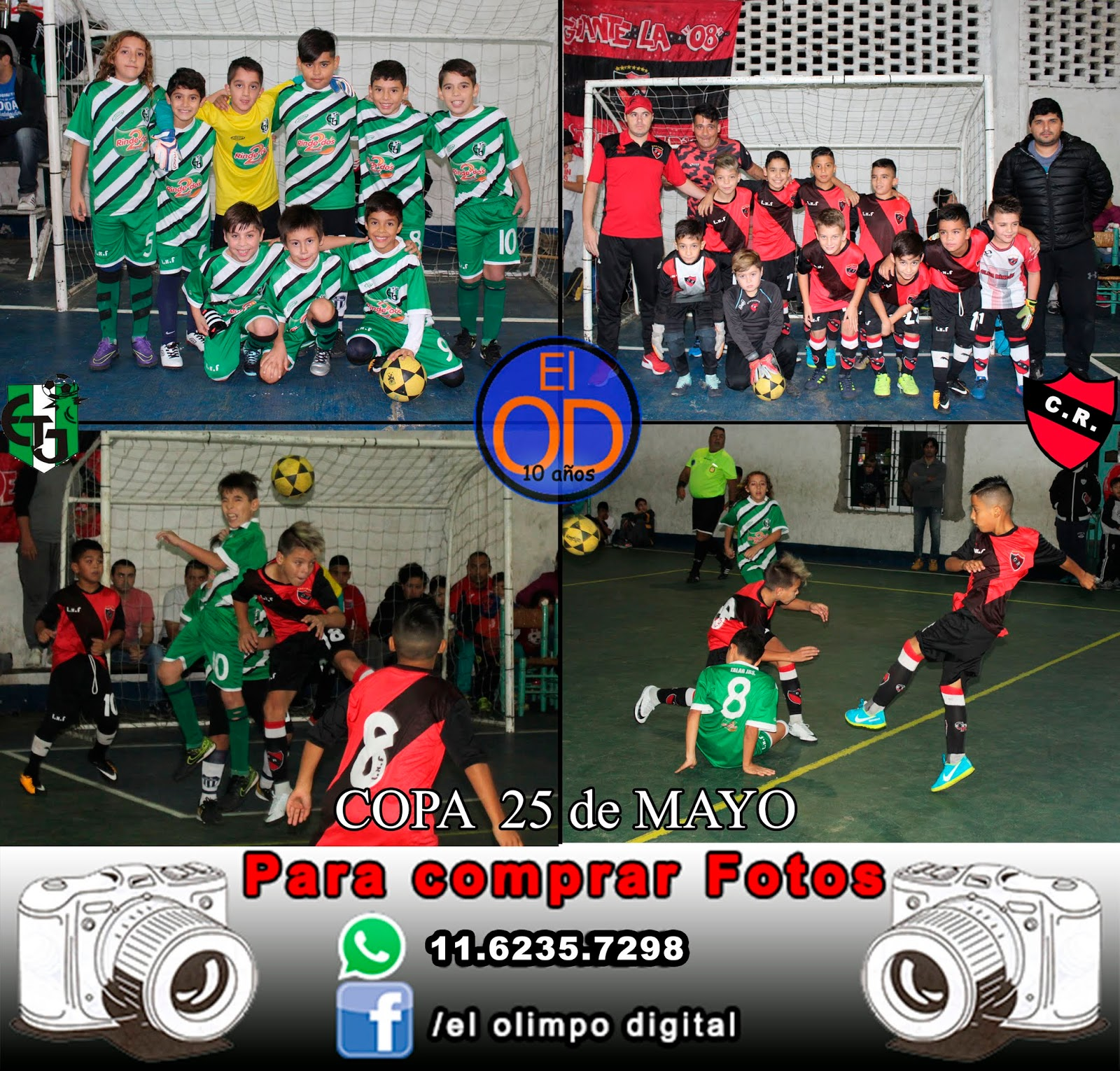 El Olimpo Digital: C25M - Semifinal A: Talar Jrs c. Rincón
