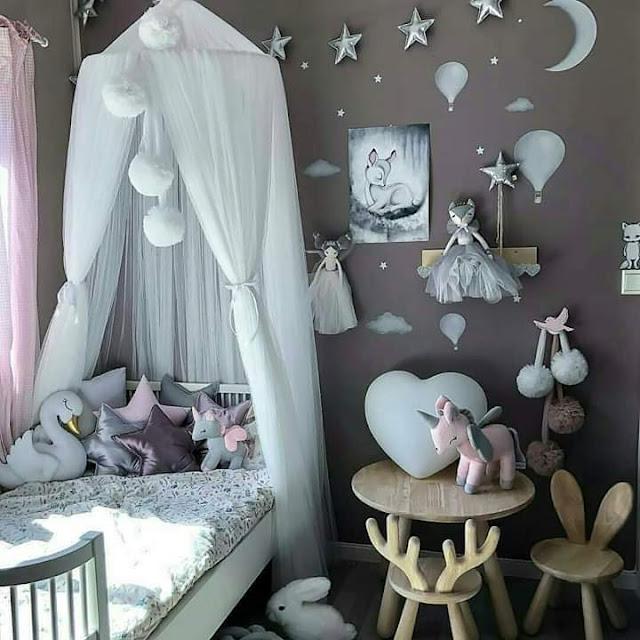 تصميمات رقيقة لغرفة الأطفال مميزة وجميلة وستعجب طفلك
