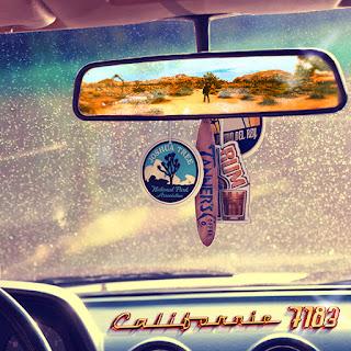 Pochette du EP Californie de 7183