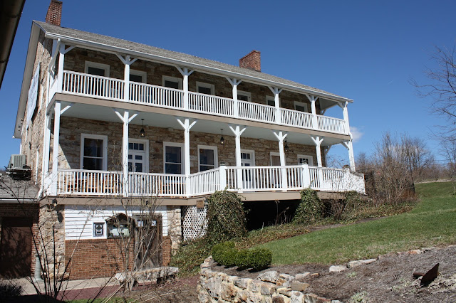 Historic Jean Bonnet Tavern in Bedford, Pennsylvania