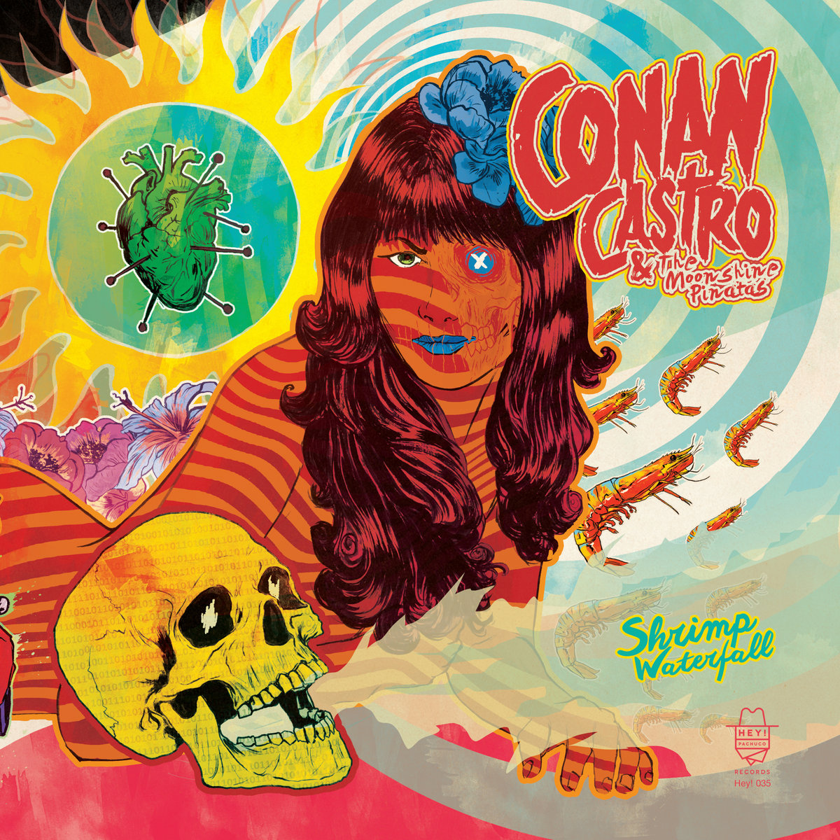 STREAM: Conan Castro and the Moonshine Piñatas - Shrimp Waterfall
