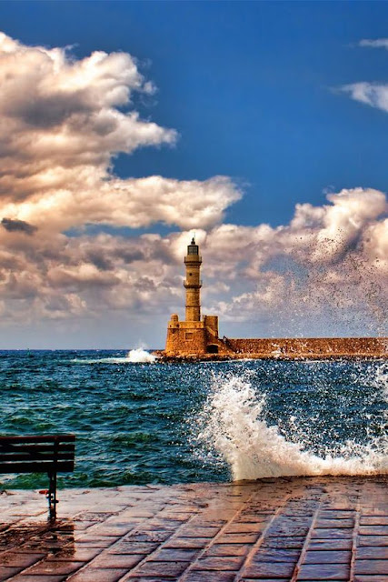 Chania Liighthouse Crete