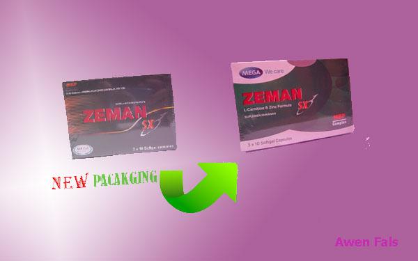 Zeman Sx Suplemen Kesuburan Pria Dan Membantu Pembentukan Otot