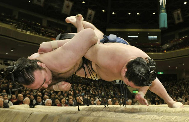 2017 March Grand Sumo Tournament, at Body Maker Colosseum, Osaka