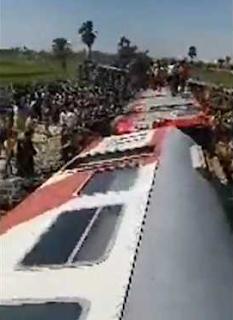 حادث قطار سوهاج يظهر فشل التنمية فى الدوله