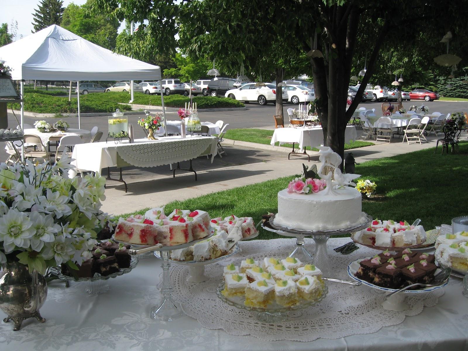 BLURT Blogger: Shabby Chic Wedding Reception On The Cheap