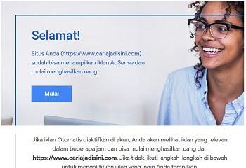 Rahasia Blog Bisa Cepat Diterima Google Adsense