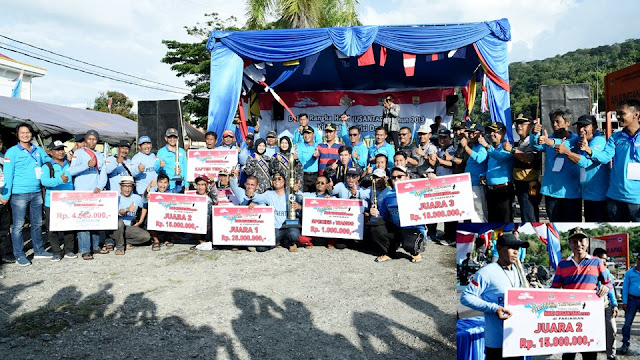 NFC Pekanbaru Juarai Mancing Mania Hari Nusantara Nasional