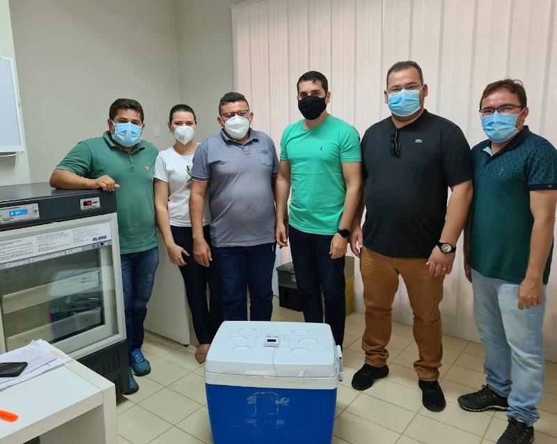 Apodi recebe primeiro lote de vacina de Oxford/AstraZeneca