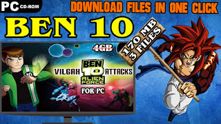 BEN 10 ALIEN FORCE VILGAX ATTACKS PC GAME DOWNLOAD