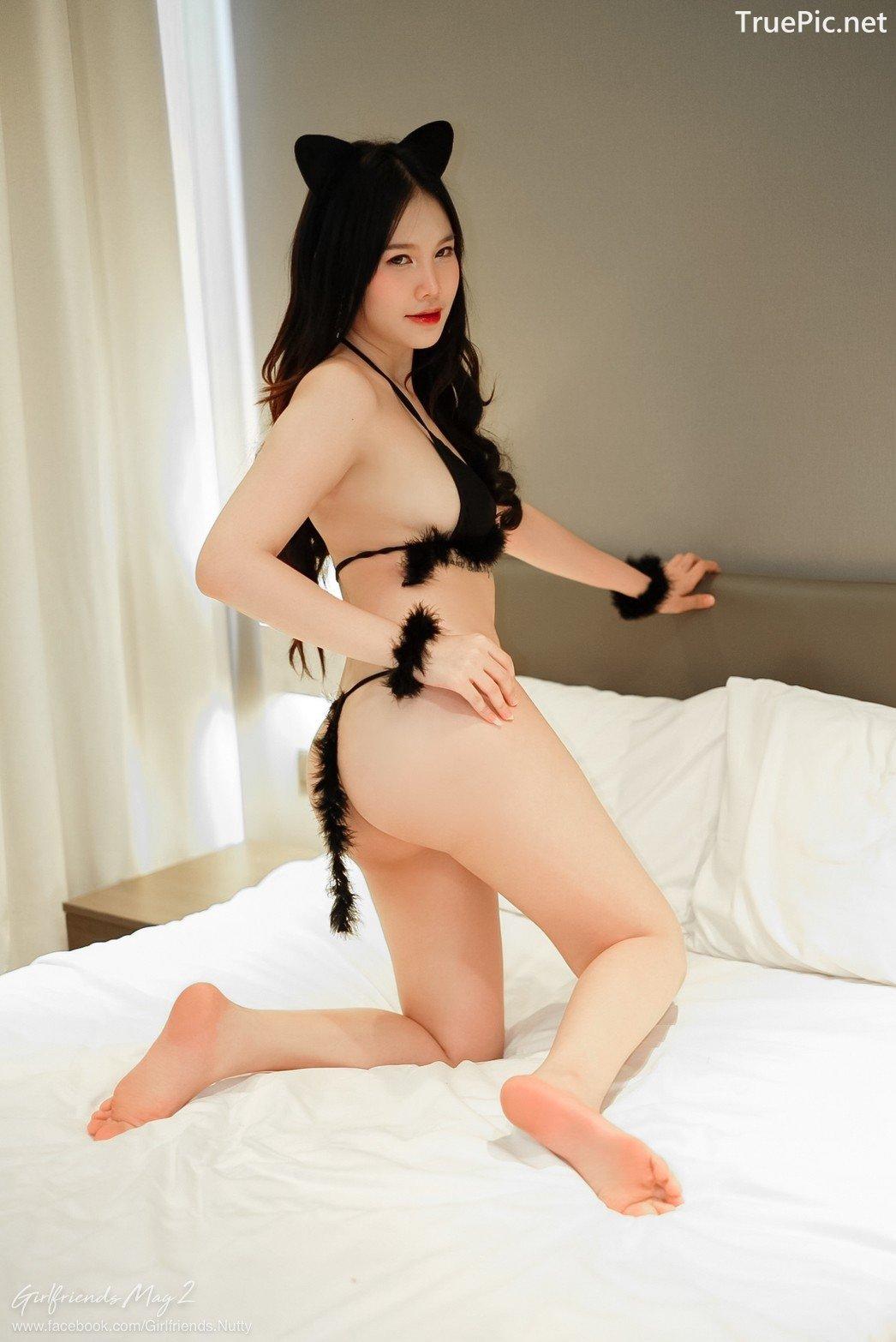Image Thailand Model - Chanunshida Phuangsombut - Sexy Black Cat - TruePic.net - Picture-6