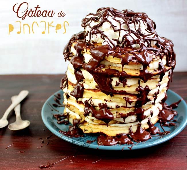pancakes vanille chocolat