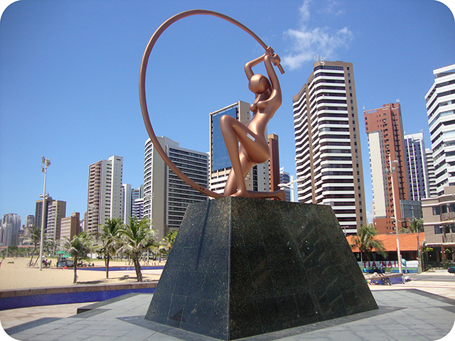 Dica de Viagem : Fortaleza - Ceará : Iracema, a Guardiã