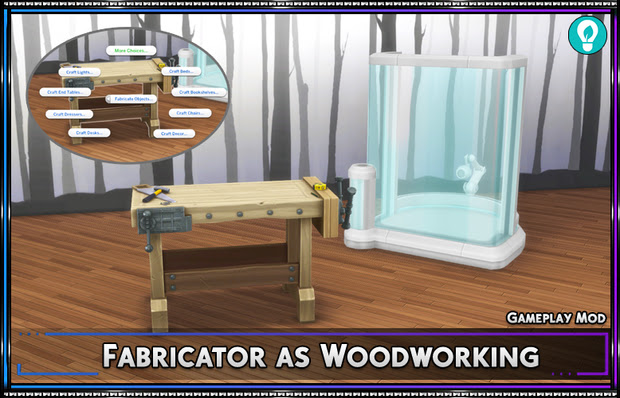 Fabricator as Woodworking