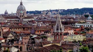 vista pincio villa borghese - Villa Borghese com guia em português