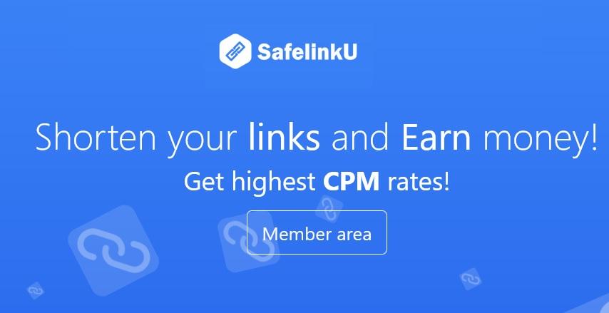 SafelinkU, acortador de enlaces