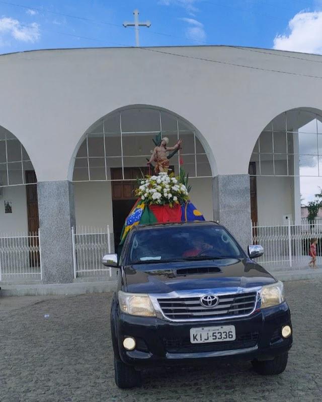 Em ato de religiosidade imagem de São Sebastião passará pelas principais ruas de Limoeiro pedindo proteção para todos