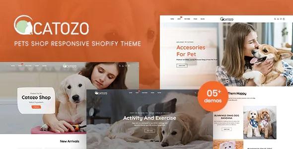 Best Pets Shop Responsive Shopify Theme