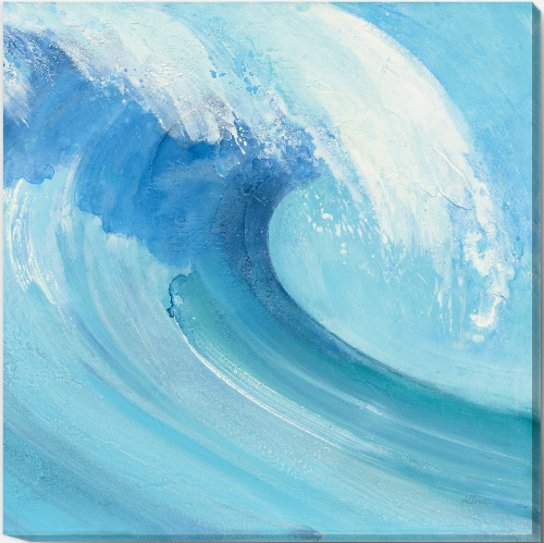 Large Ocean Wave Art Painting Print