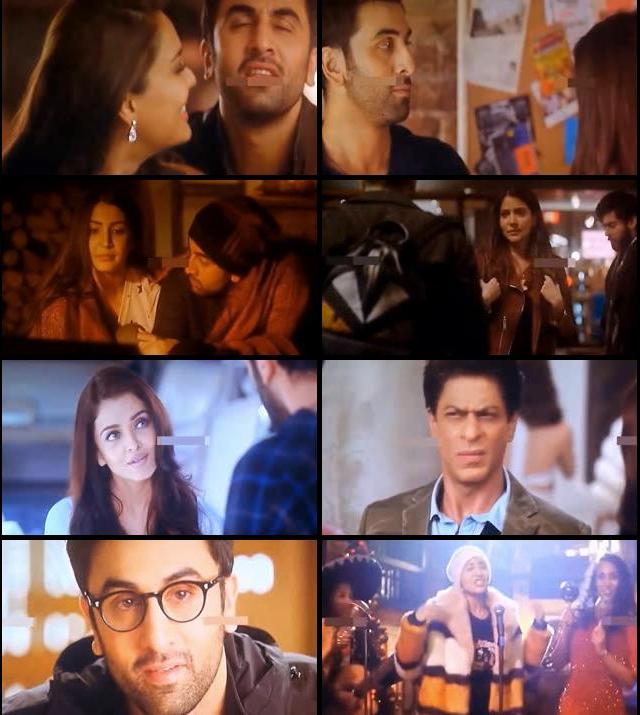 Ae Dil Hai Mushkil 2016 Hindi 720p DVDScr