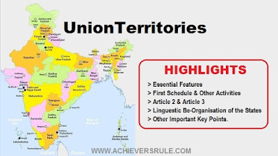 Polity Notes for SSC, Railway, IB Union Territories
