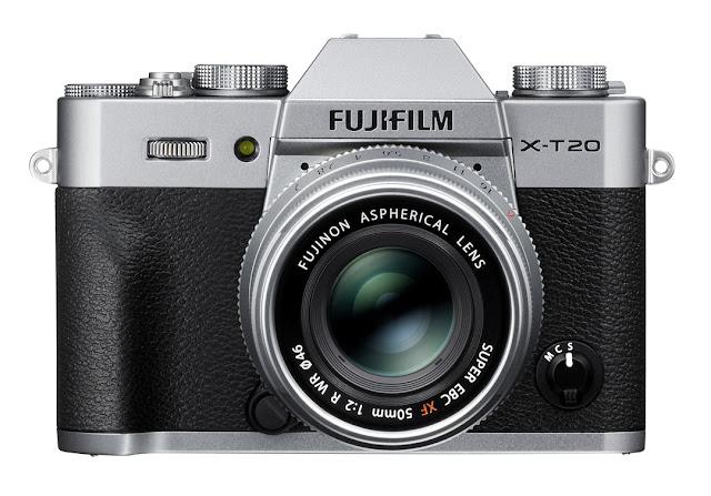 La Fuji X-T20 con il nuovo XF 35mm f/2