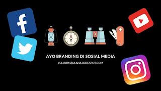 ayo branding di sosial media