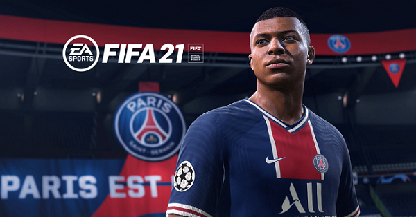 Kylian Mbappé is the cover star of FIFA 21