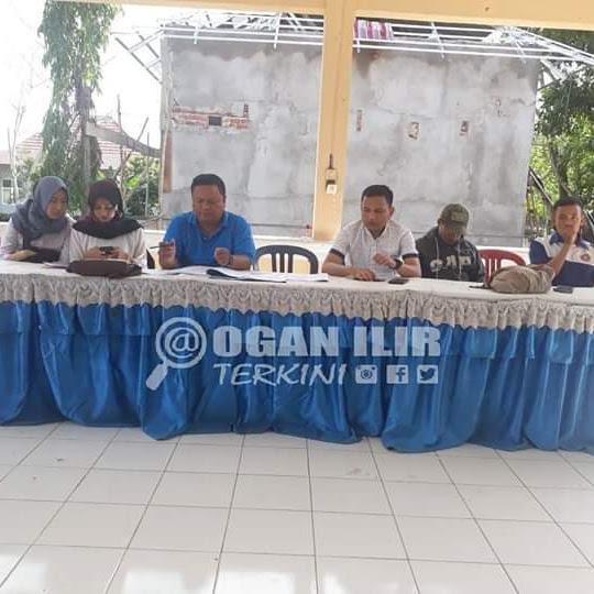 Rapat Koordinasi Karang Taruna Ogan Ilir Di Balai Kecamatan Indralaya Utara