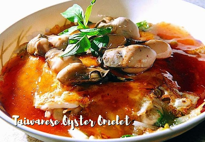 Taiwanese Oyster Omelet Recipe