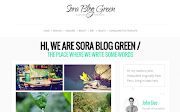 Sora Blog Green Template Free Download