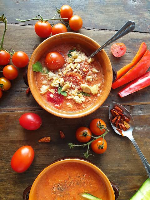 Ricetta Gazpacho andaluso