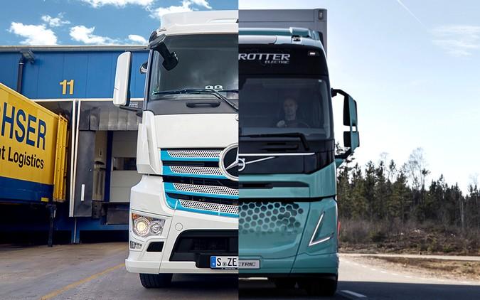 Daimler e Volvo assinam acordo para joint venture de células de combustível