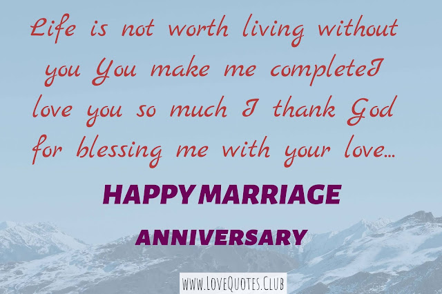 love quotes for husband on anniversary
