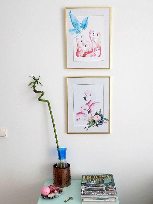 Printables on the wall