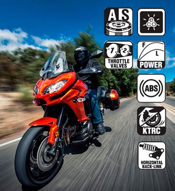 Kawasaki Versys 1000 2015: Características