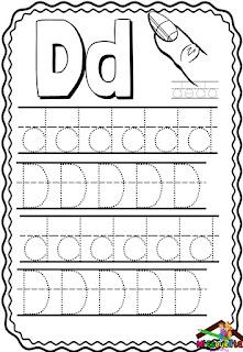 Cuaderno de trazos de letras