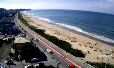 Câmera ao vivo da Praia Brava