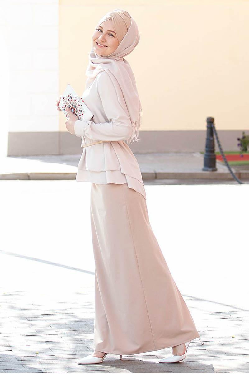 jilbab warna nude manis cewek IGo