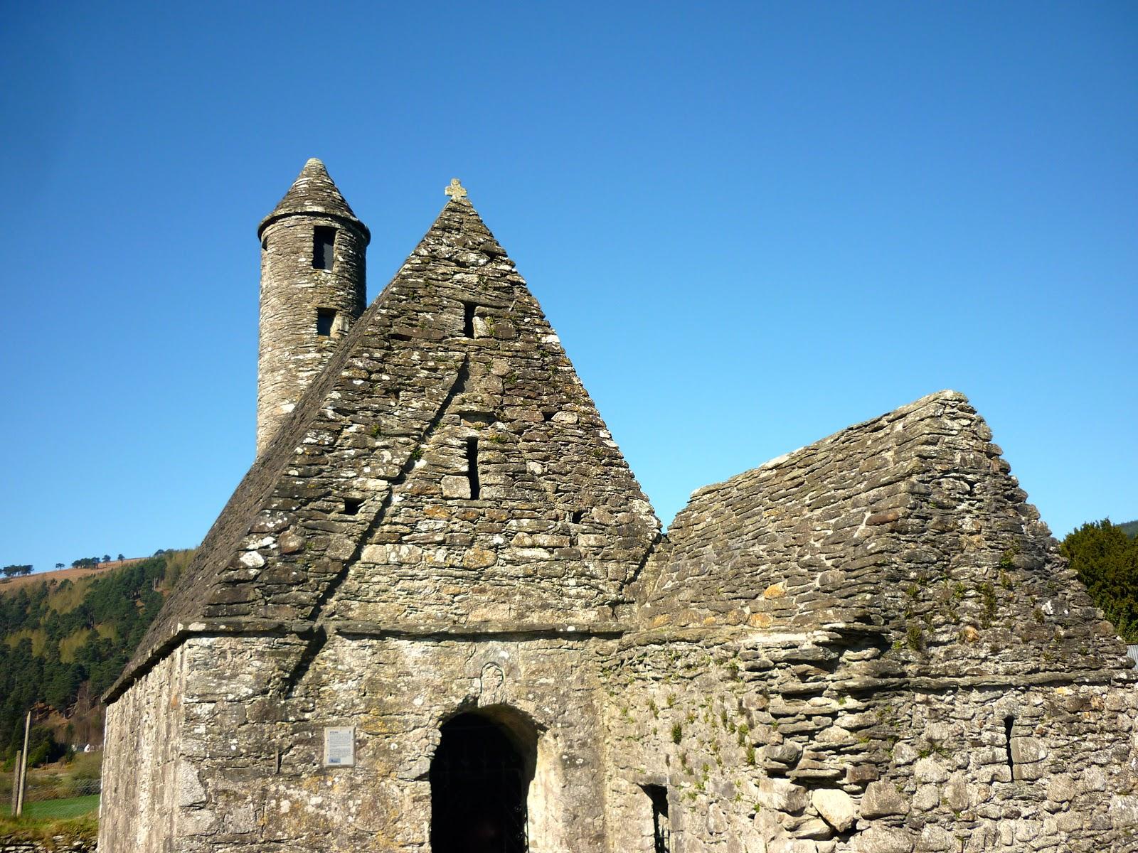 Time Travel Ireland St Kevin S Church Glendalough Co