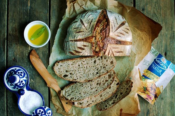 Ziemniaczany chleb na zakwasie