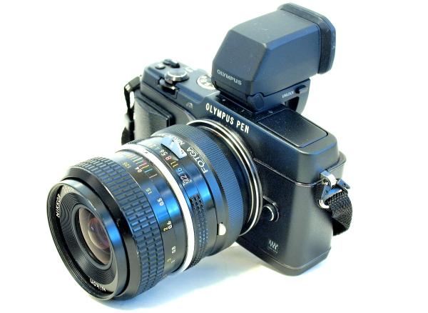 Olympus E-P5, Nikkor Pre-Ai 35mm f/2.8