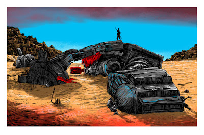 """Star Wars: The Force Awakens """"I'm No One"""" Day Edition Screen Print by Tim Doyle & Spoke Art"""