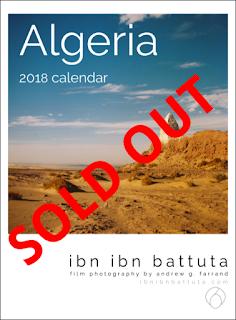 Ibn Ibn Battuta's Algeria 2018 Wall Calendar